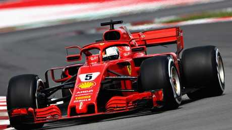 Sebastian Vettel and Ferrari will be hoping for an improved performance. (Photo: Mark Thompson/Getty)