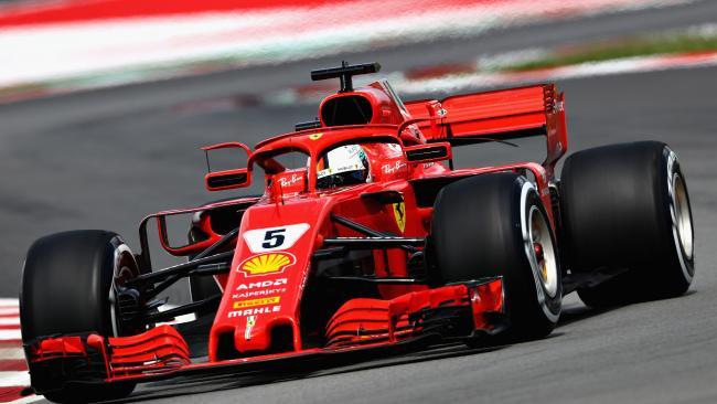 Sebastian Vettel and Ferrari will be hoping for an improved performance. (Photo: Mark Thompson/Getty)
