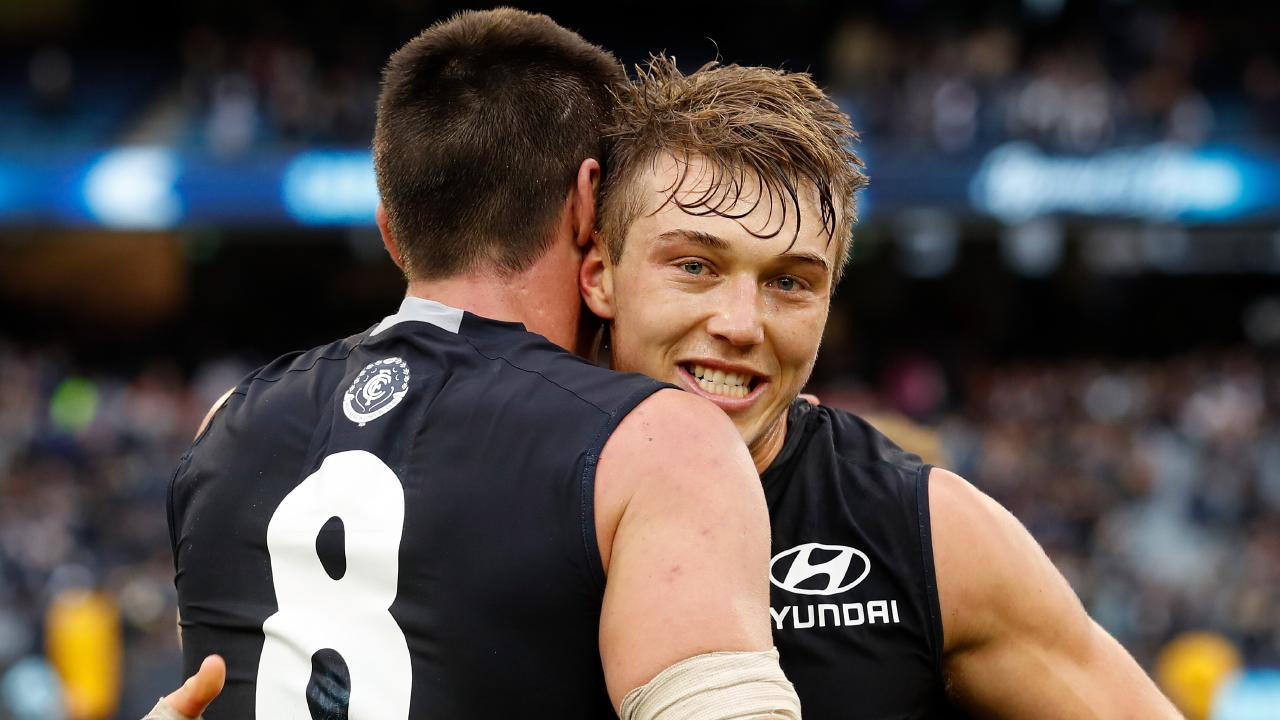 Patrick Cripps of the Blues.
