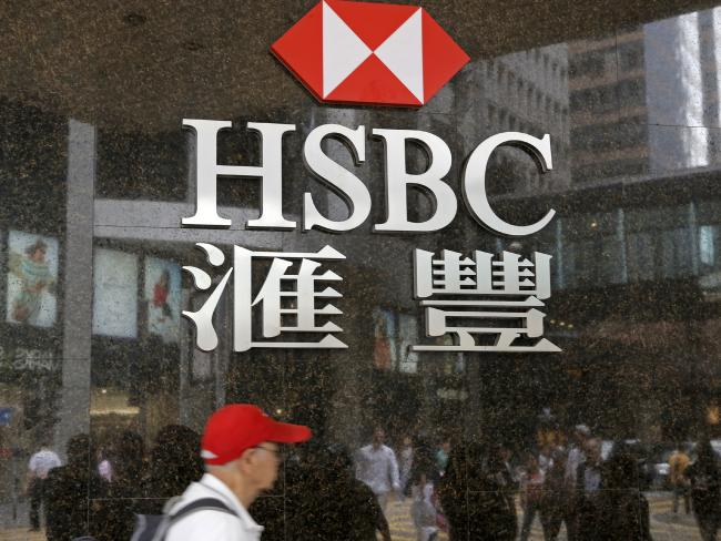 HSBC operates in countries around the world and launders the money of drug cartels. Picture: Kin Cheung.