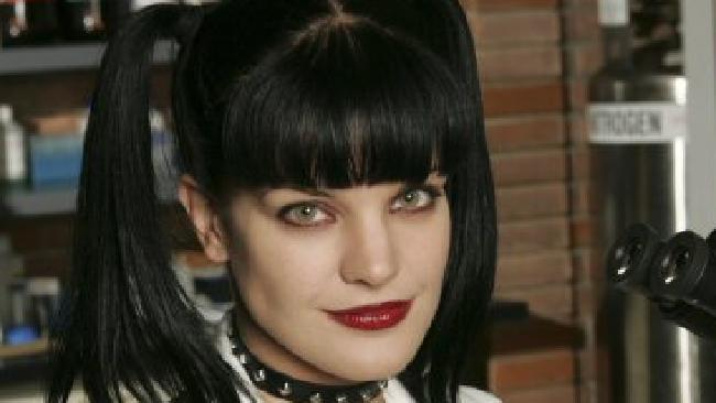 Actor Pauley Perrette in TV series 'NCIS'.