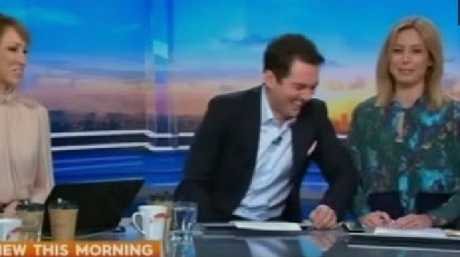 Drunk or not drunk? Lisa Wilkinson said she was unsure. Picture: Channel 10