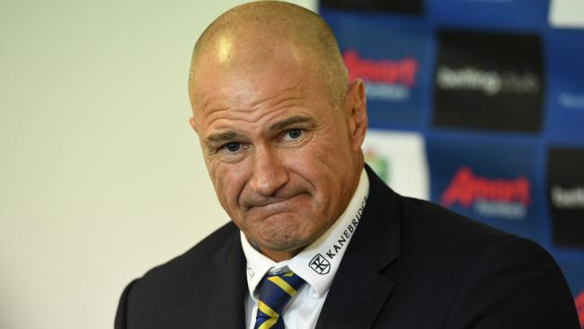 Brad Arthur has Donnelly's support for now. (AAP Image/Brendan Esposito)