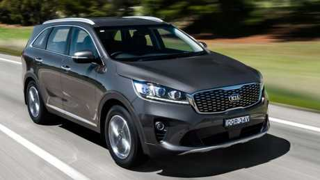 Sorento: Tough and, for its genre, attractive