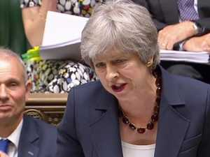 May talks up Brexit future