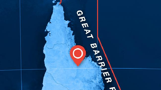 The location of Kingvale Station. Great Barrier Reef threatened by deforestation plans