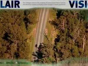 Polair footage: Police chase across Sunshine Coast