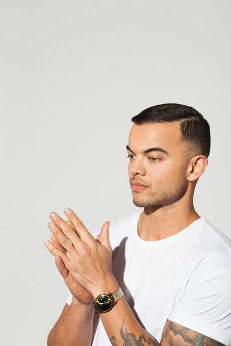 Guy Sebastian is working on his next album and will treat fans to some of the songs on his Then & Now Tour.