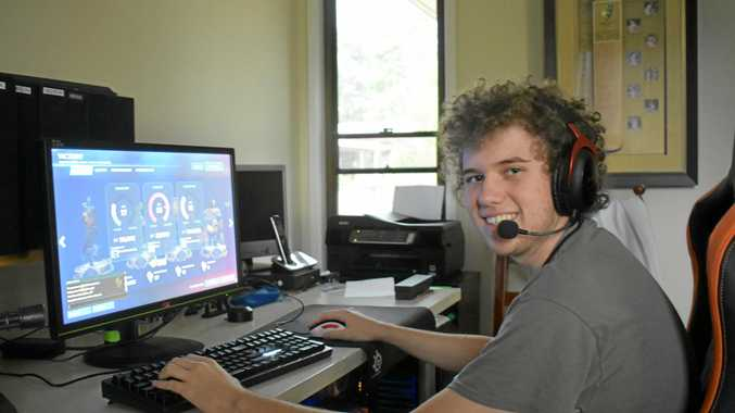 PROFESSIONAL FUTURE: Brodie Ryan has shown freakish skills in his flourishing gaming career.