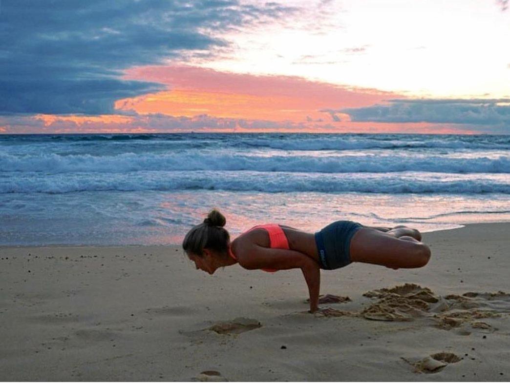 USC graduate and fitness guru Eliza Landgren.