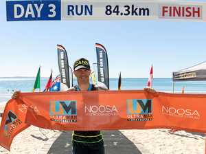 Carl conquers 515km Ultraman race