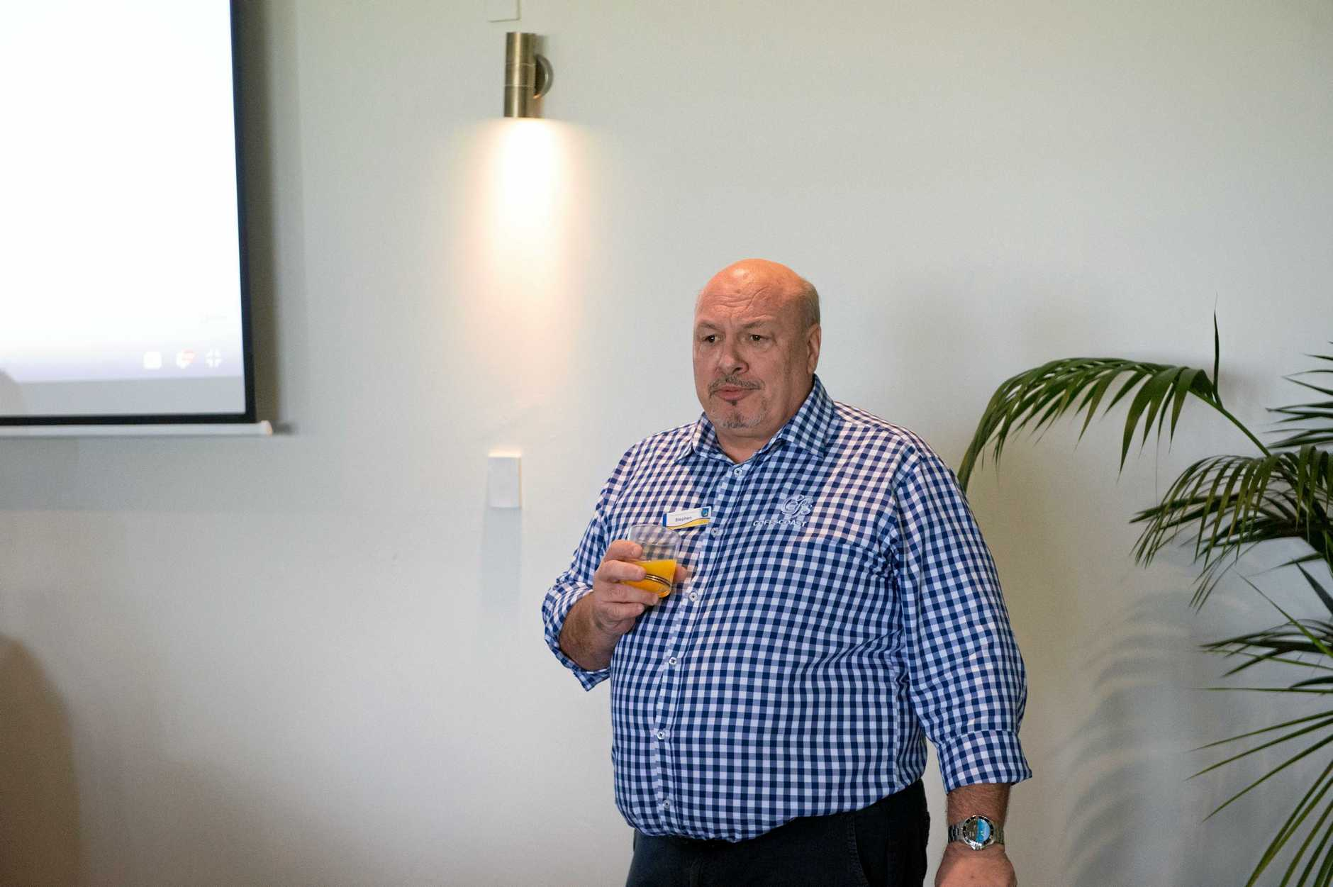 Coffs Tourism Event at Aanuka Beach Resort, to dicuss accommodation trends,  Speaking Stephen Saunders (Coffs City Council). 14 MAY 2018