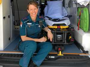 Former travel writer finds perfect new career as paramedic