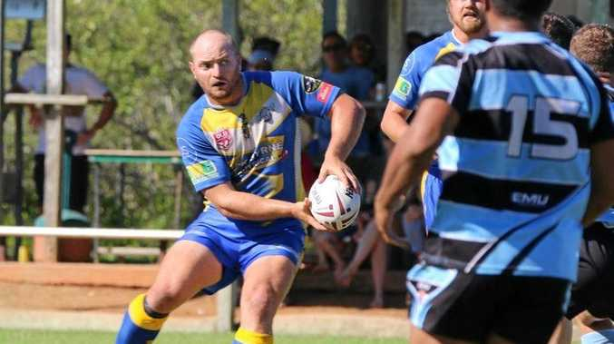 STRONG START: Workhorse Gavin Hiscox was man of the match in the Yeppoon Seagulls' big win over Norths in the opening round of the Rockhampton competition.