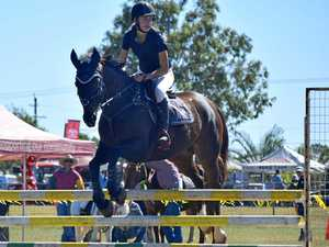 Show jumping is beginning to gain traction in the Burnett