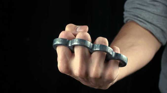 ILLEGAL KNUCKLE DUSTERS: man was arrested after he was found with knuckle dusters at the Chinderah Hotel.
