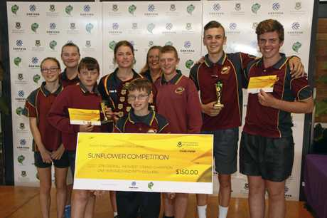 Agriculture students from Nanango State High took out several categories on the day.
