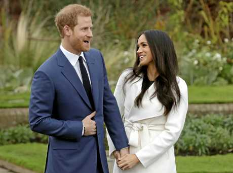 Prince Harry and fiancee Meghan Markle.