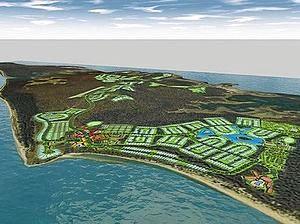 The Hummock Hill Island master plan.