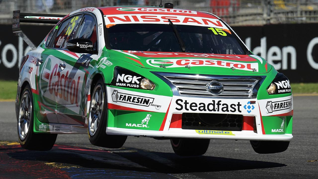 Up and away ... Nissan is pulling out of the V8 Supercars championship at the end of 2018. Photo by Daniel Kalisz/Getty Images.