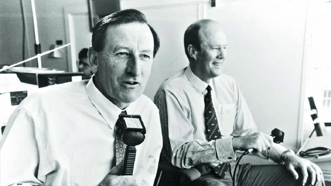 Bill Lawry and Tony Greig had an incredible rapport.