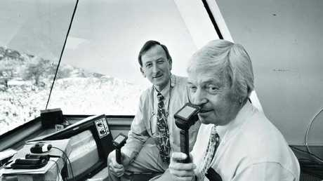 Bill Lawry reserved special praise for Richie Benaud.