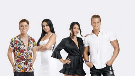 The Australian cast members of Geordie Shore season 17: Nick Murdoch, Chrysten Zenoni, Dee Nguyen and Alex Macpherson