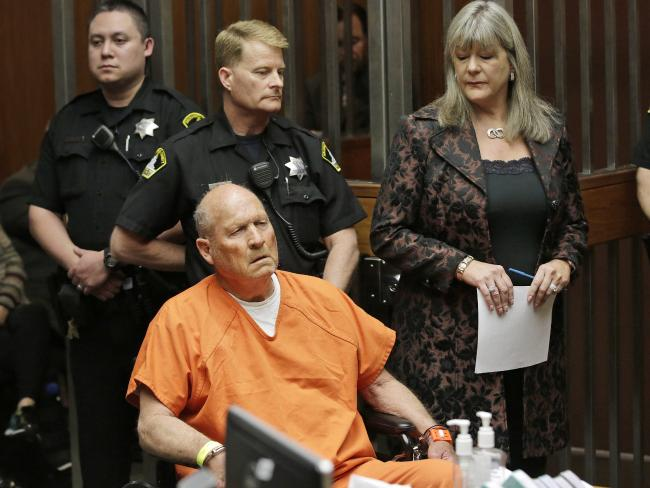 Joseph James DeAngelo, 72, who authorities suspect is the Golden State Killer responsible for at least a dozen murders and 50 rapes in the 1970s and 80s. Picture: AP