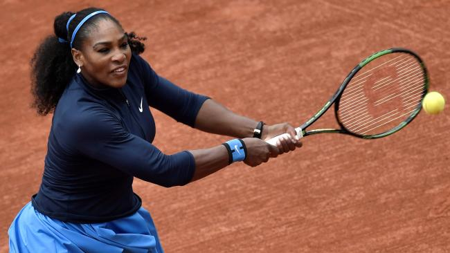 Williams has not played in a Grand Slam event since winning the Australian Open in January 2017.