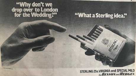 It would be jarring to see an ad like this today.