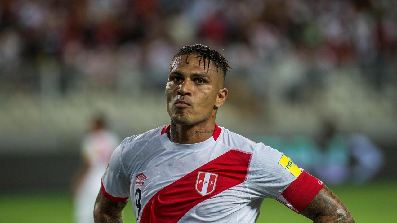 Peru captain Paolo Guerrero will miss the World Cup