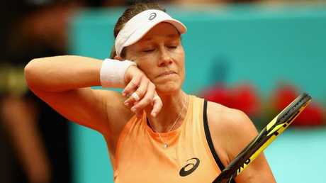 Sam Stosur has been defeated at the Italian Open. Picture: Getty