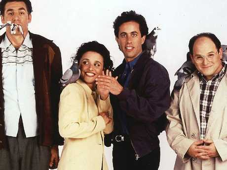 Seinfeld ended with — spoiler alert — the four main characters in jail.