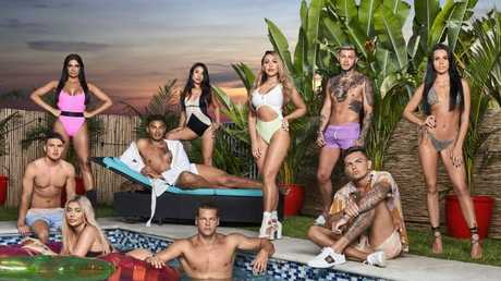 The cast of Geordie Shore for season 17, filmed on the Gold Coast. Picture: Daniel Boud