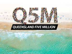 Queensland's 'staggering' race to 5 million