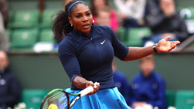 Serena Williams is set to make her Grand Slam return at the French Open. Picture: Getty