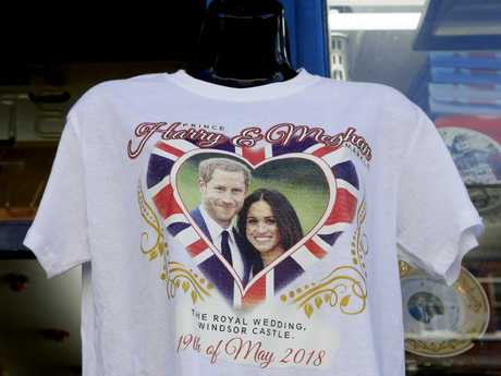 England is in the midst of Royal Wedding fever. Picture: AP/Kirsty Wigglesworth