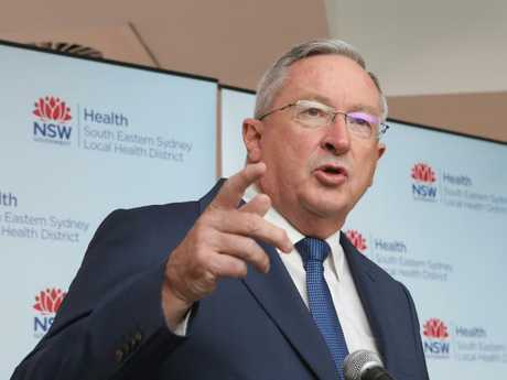 "NSW Health Minister Brad Hazzard urged his colleagues to restrict use of the title ""cosmetic surgeon"" to avoid patients being misled. Picture: AAP Image/Daniel Munoz"