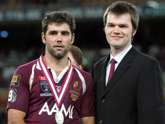 Cameron Smith was awarded the Wally Lewis medal as man of the series in 2007.