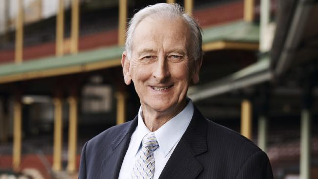 Bill Lawry has officially retired. Picture: Channel 9