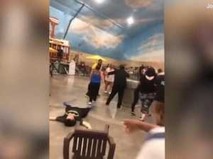 Bloody brawl breaks out at water park