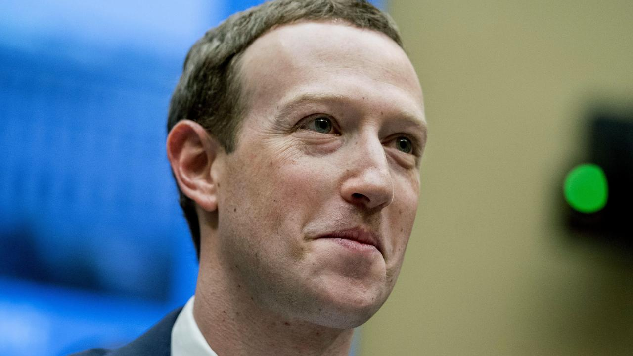 Facebook CEO Mark Zuckerberg was grilled by Congress over the Cambridge Analytica scandal. Picture: AP