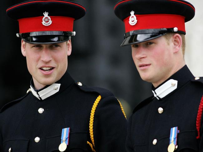 Prince Harry will spend the night before his wedding with big brother, prince William. Picture: AFP/Carl De Souza