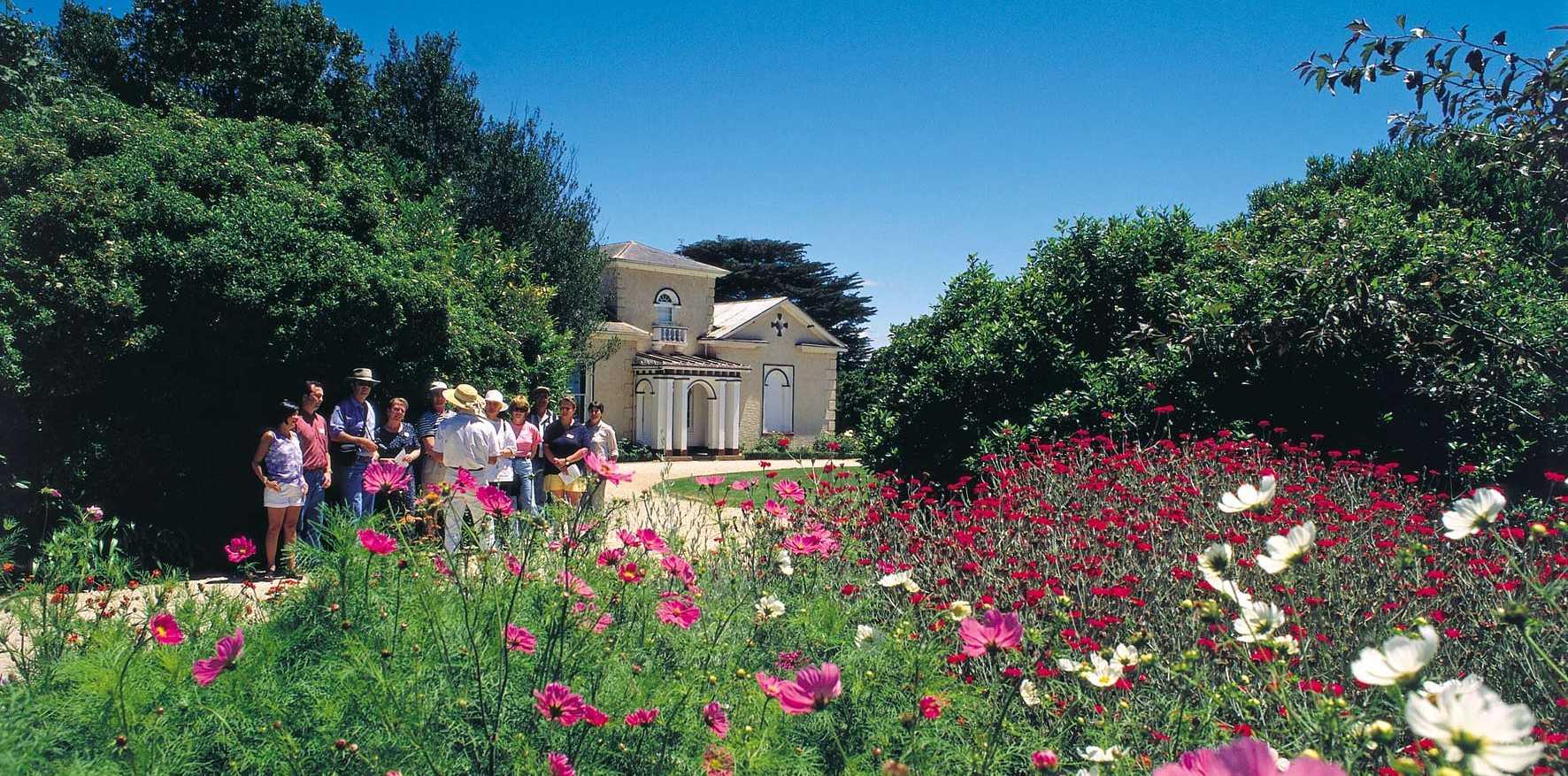 BOTANICA TOURS: Woolmers Estate in Tasmania.