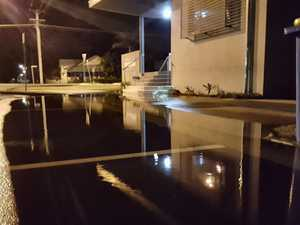 Yes, another reminder: Don't drive though king tide flooding