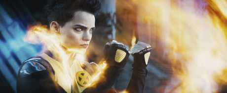 Brianna Hildebrand returns with her powers as Negasonic Teenage Warhead in Deadpool 2.