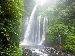 Take a trek to Lombok's breathtaking waterfalls