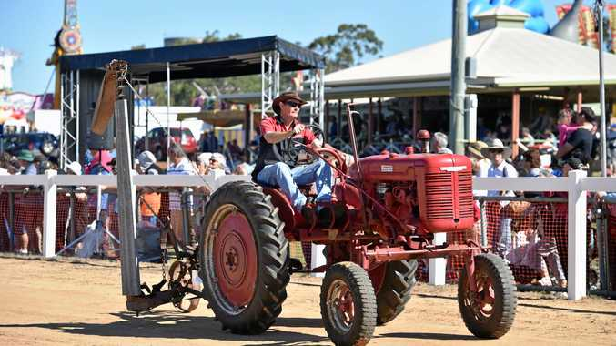 POPULAR: Antique machinery will demonstrate a tractor pull.
