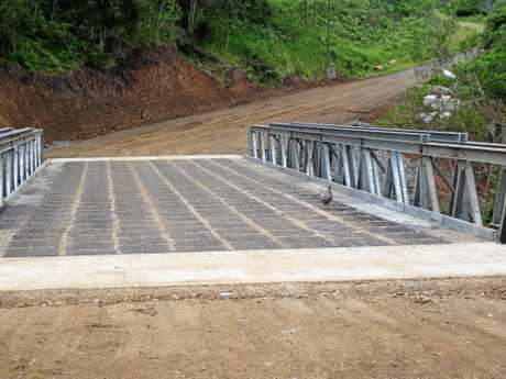 The six Bridges on Lions Road are open and accessible to all residents... even roosters.