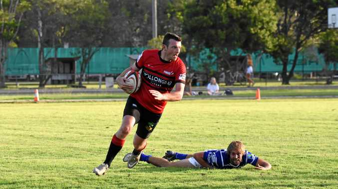 ONE TO WATCH: Wollongbar-Alstonville winger James Vidler has already scored 11 tries this season.